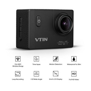 kamerarecorder-vtin-20-zoll-full-hd-1080p-12mp-wifi-taetigkeits-kamerarecorder-kamera-170aweitwinkel-glass-len-mini-wasserdicht-30m-tauchen-sport-videokamera-mit-2-batterien